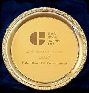 Award 2020 TGA Pale Blue Dot® Recruitment