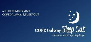 Cope Galway Sleepout Pale Blue Dot® Recruitment