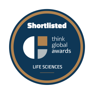 Life Sciences - Think Global Awards Shortlisted Badge